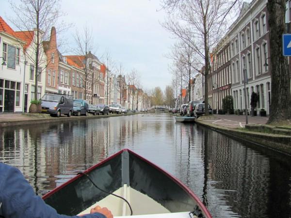 Watersnip vaart tijdens Gouda Waterstad